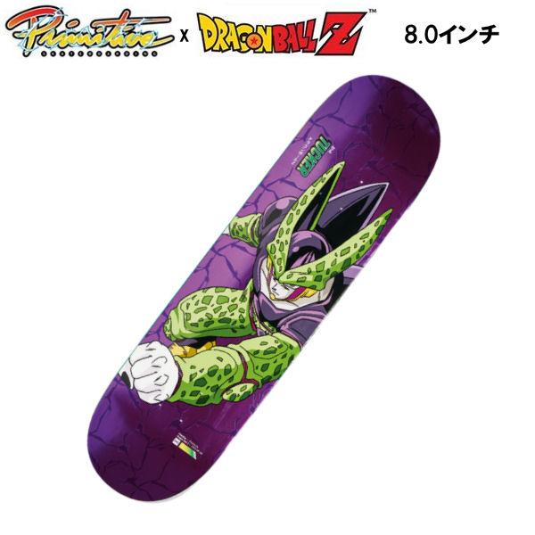 【Primitive】プリミティブ x DRAGON BALL Z ドラゴンボール Z NICK TUCKER - PERFECT CELL DECK スケートボード デッキ 板 セル 8.0インチ【あす楽対応】