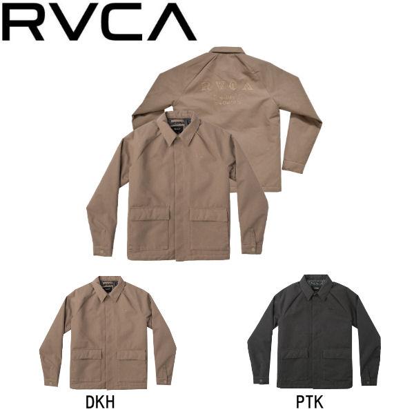 【RVCA】ルーカ 2018秋 FALL フォール COACH OF THE YEAR メンズ コーチジャケット 長袖 アウター S・M・L 2カラー【あす楽対応】