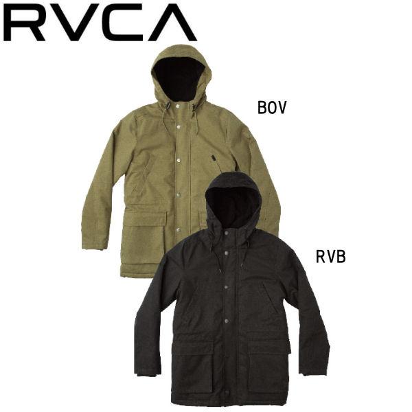 【RVCA】ルーカ 2018秋 FALL フォール GROUND CONTROL ? メンズ ジャケット 長袖 アウター S・M・L 2カラー