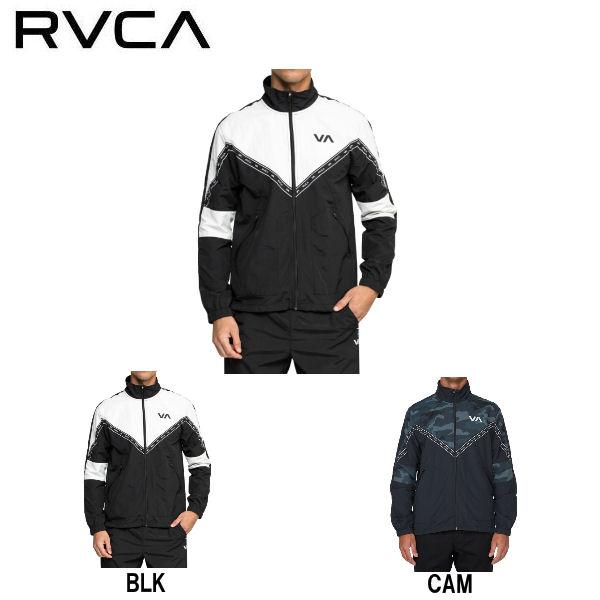 【RVCA】ルーカ 2019春夏 ADAPTER ANORAK JACKET メンズ ジャケット スポーツウェア アウター ジャージ トップス S・M・L 2カラー【あす楽対応】