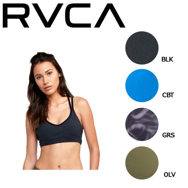 【RVCA】ルーカ 2019春夏 IGNIGHT STRAPPY SPORTS レディース ブラトップ スポーツブラ 水着 トップス SUP ヨガ 水陸両用 RVCA SPORT XS・S 4カラー