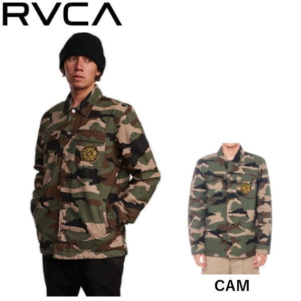 【RVCA】ルーカ 2019秋冬 RVCA VENOM CAMO JKT メンズ ベノム カモ ジャケット アウター キルティング スケートボード サーフィン アウトドア S/M/L/XL CAM【あす楽対応】
