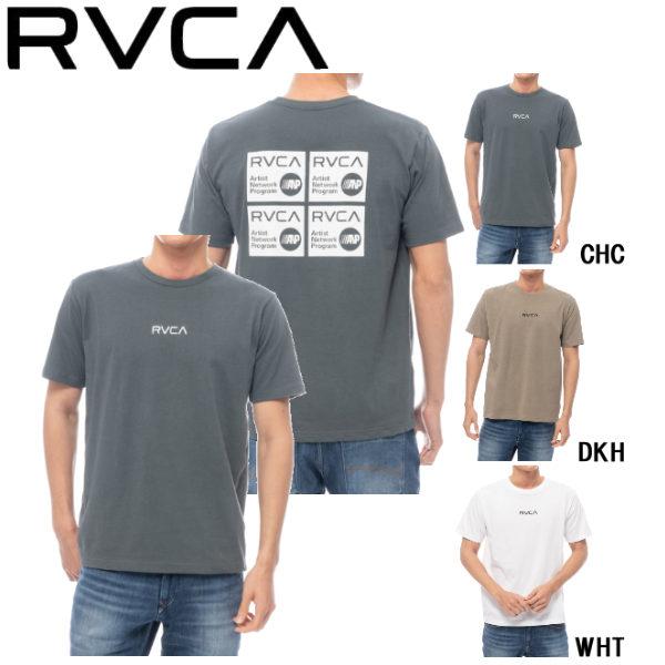 【RVCA】ルーカ 2020春夏 RVCA メンズ SQUARE BALANCE TEE Tシャツ 半袖 スケートボード サーフィン トップス S / M / L 3カラー【あす楽対応】:surf&snow 54TIDE
