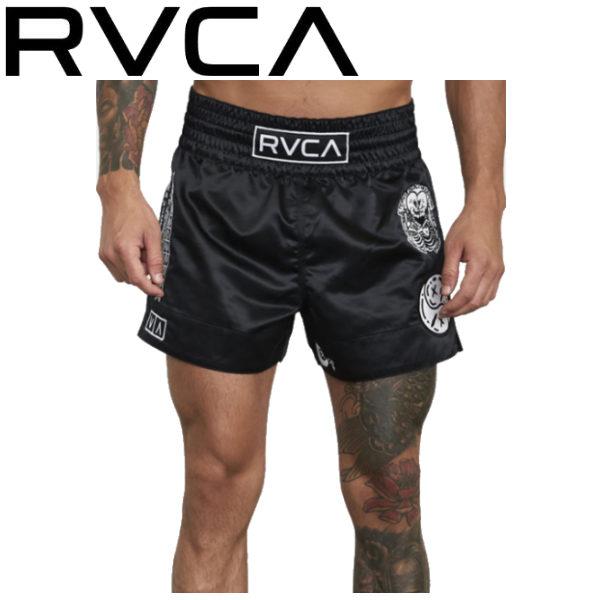 【RVCA】ルーカ 2020春夏 RVCA SPORT メンズ SPORTS ORTIZ MUAY THAI SHORT ムエタイショーツ ムエタイ ジム トレーニング サーフィン ウォークパンツ【あす楽対応】