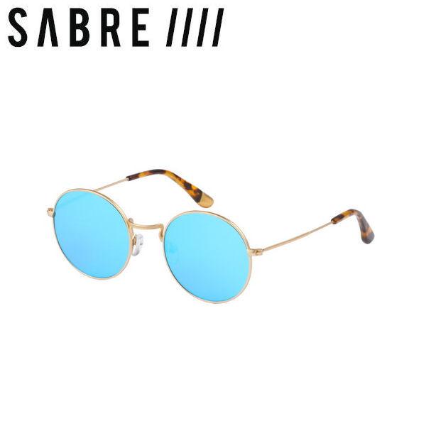 【ステッカープレゼント】【SABRE】セイバー JEREMY 2 ユニセックスサングラス メンズ レディース GOLD METAL/BLUE MIRROR