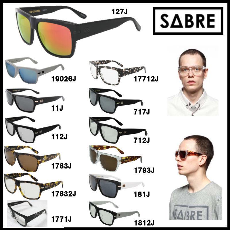 【ステッカープレゼント】【SABRE】セイバー NO CONTROL/100%UVカット!メンズ・レディースサングラス ユニセックス 眼鏡