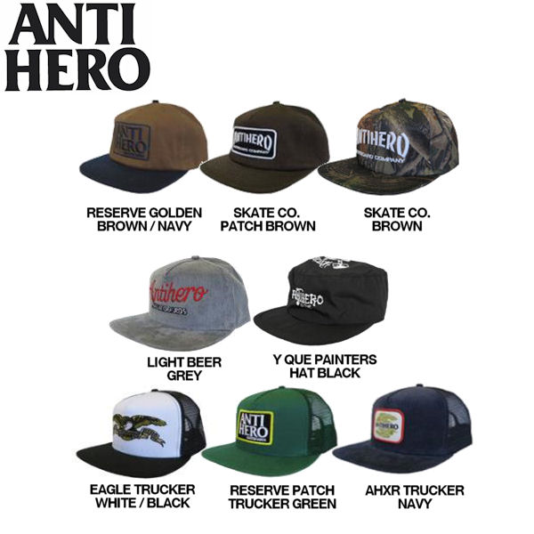 3c16ef5f 54tide: Anti hero spring 2016 SNAPBACK/TRUCKER HAT mens Cap Hat / 8 color /  anti-hero | Rakuten Global Market
