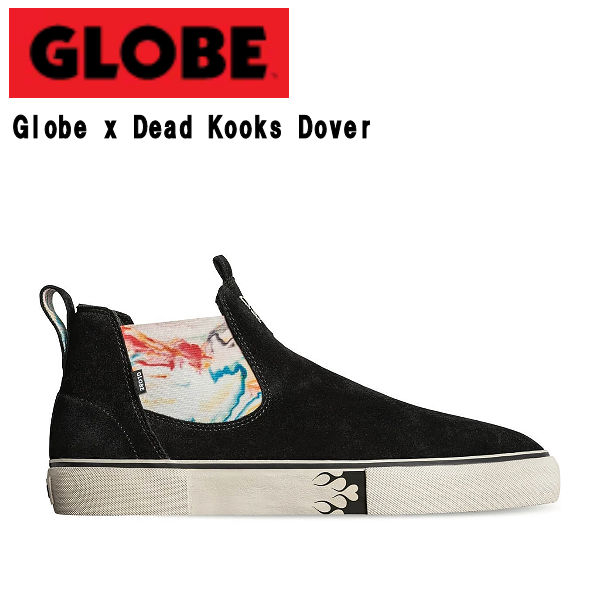 【GLOBE】グローブ Globe x Dead Kooks Dover デッドクックス コラボ メンズ スニーカー ハイカット スリッポン 靴 スケートボード パーク ストリート ランプ ボウル 26.0cm~28.0cm 【あす楽対応】