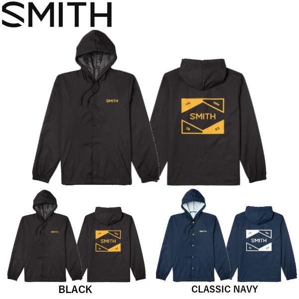 スミス メンズ コーチジャケット アウター スノーボード SMITH 2020-2021 HOODED COACHS M 人気激安 S あす楽対応 フード付き JACKET ウインドブレーカー 年末年始大決算 2カラー ナイロンジャケット L