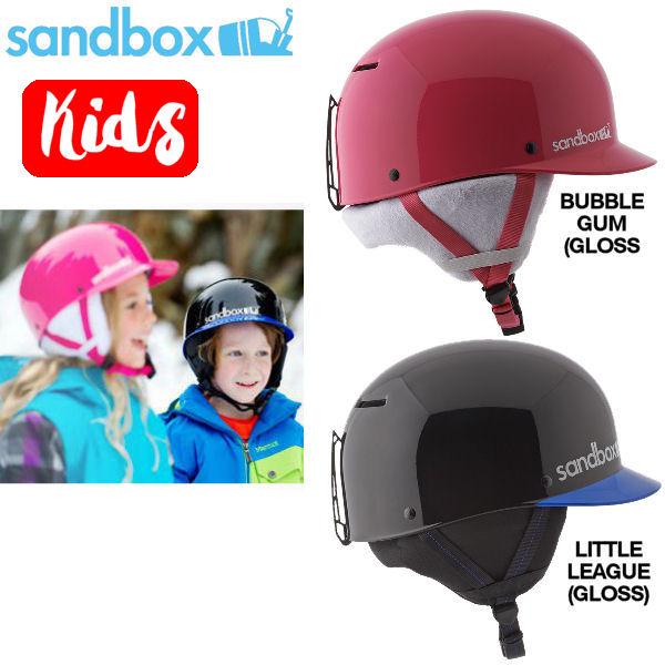 【SANDBOX】サンドボックス CLASSIC 2.0 SNOW KIDS/キッズヘルメット スケートボード スノーボード 子供用/2カラー【あす楽対応】