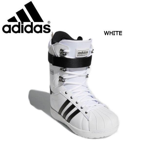 【ADIDAS】アディダス 2018-2019 SUPERSTAR ADV メンズ スノーブーツ スノーボード スノボー 靴 WHITE 25.5cm-28.5cm