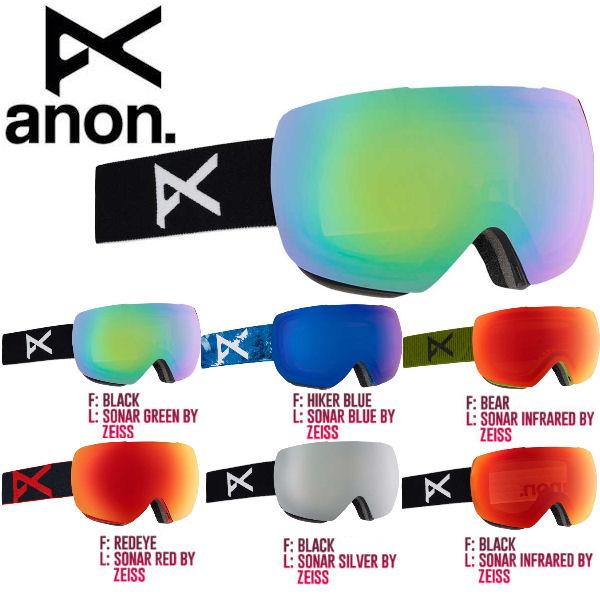 【ANON】アノン 2017-2018 MIG Goggle メンズ スノーゴーグル スノーボード アジアンフィット 6カラー【あす楽対応】