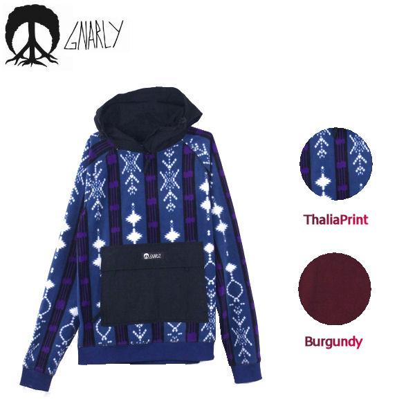 【GNARLY】ナーリー 2018秋 Polar Pullover メンズ プルオーバーパーカー パーカ 長袖 スノーボード M-XL 2カラー【あす楽対応】