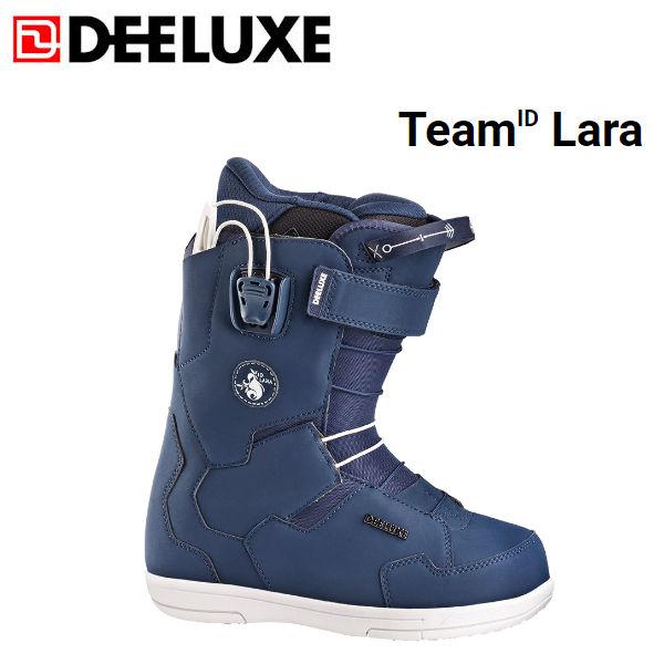 【DEELUXE】ディーラックス 2018-2019 TeamID Lara チームアイディー ララ レディース スノーブーツ スノーボード スノボー 靴 22.5cm navy【あす楽対応】