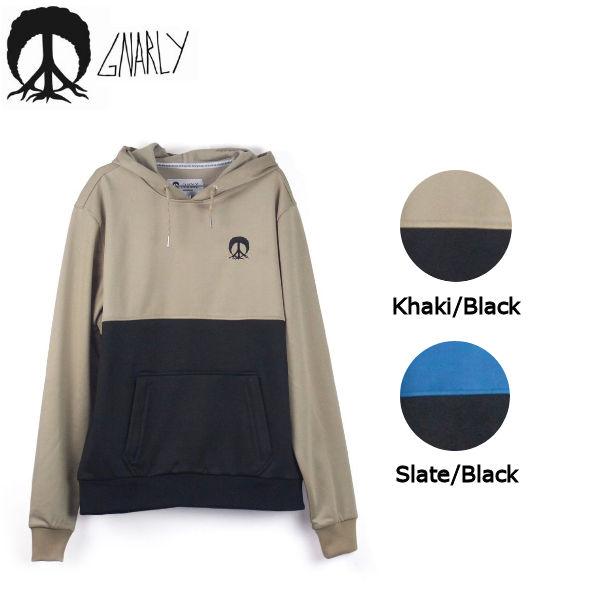 【GNARLY】ナーリー 2018秋 Bonded Premium Hoodie メンズ フリース フード アウター トップス S-XXL 2カラー