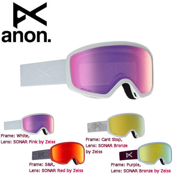【ANON】アノン 2018-2019 Women's Anon Deringer Goggle レディース スノーゴーグル スノーボード アジアンフィット 4カラー【あす楽対応】