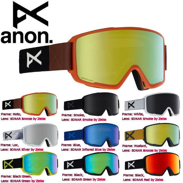 【ANON】アノン 2018-2019 Mens Anon M3 Goggle + Spare Lens メンズ スノーゴーグル スノーボード アジアンフィット 9カラー