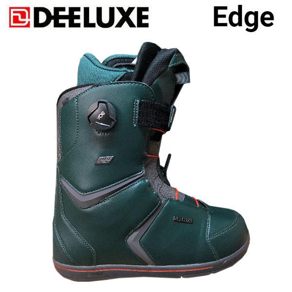 【特典あり】【DEELUXE】ディーラックス 2018-2019 Edge エッジ メンズ スノーブーツ スノーボード スノボー 靴 25.5cm-28.5cm【あす楽対応】