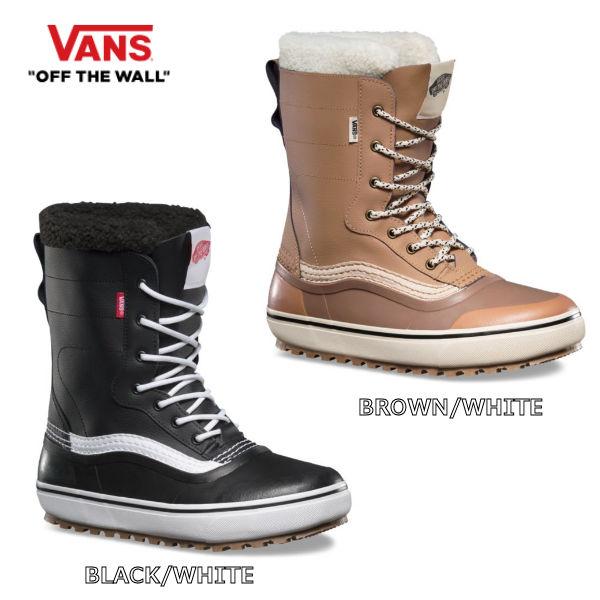 【VANS】バンズ 2018-2019 REMEDY SNOW BOOTS スノーブーツ メンズ レディース UNISEX 25cm-28.5cm 2カラー