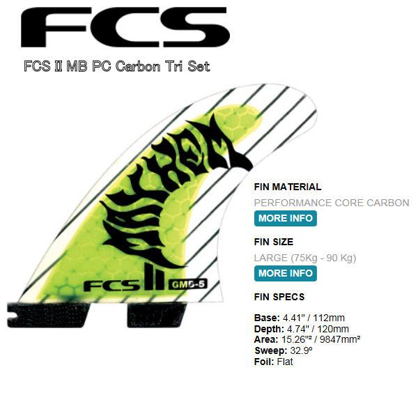 【FCS】FCS2 MB/THRUSTER SETS フィン/L【あす楽対応】