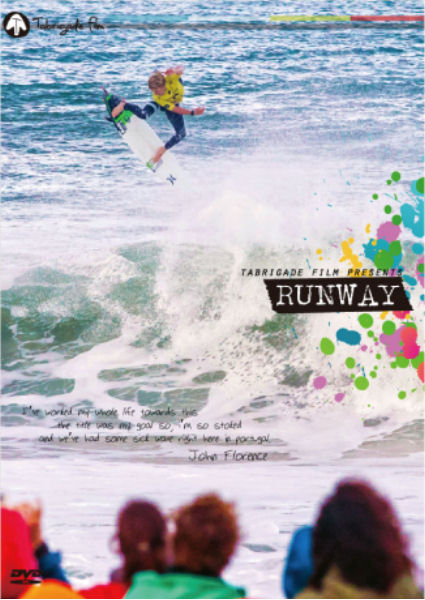 サーフィン DVD ランウェイ 【RUN WAY】Tabrigade Film RUN WAY DVD サーフィン