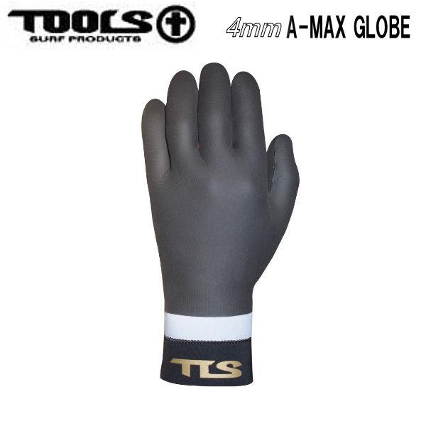 15%OFF トゥールス 手袋 TOOLS 世界の人気ブランド TLS A-MAX GLOBE サーフグローブ ウェットスーツ 防寒 ツールス あす楽対応 厚み4mm S XXS XL L M XS WINTERGLOVE 流行 サーフィン