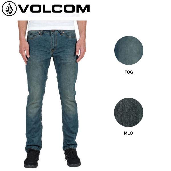 【VOLCOM】ボルコム Vorta Denim メンズデニムパンツ ジーンズ 長ズボン/28-36/Fog【あす楽対応】【正規品】