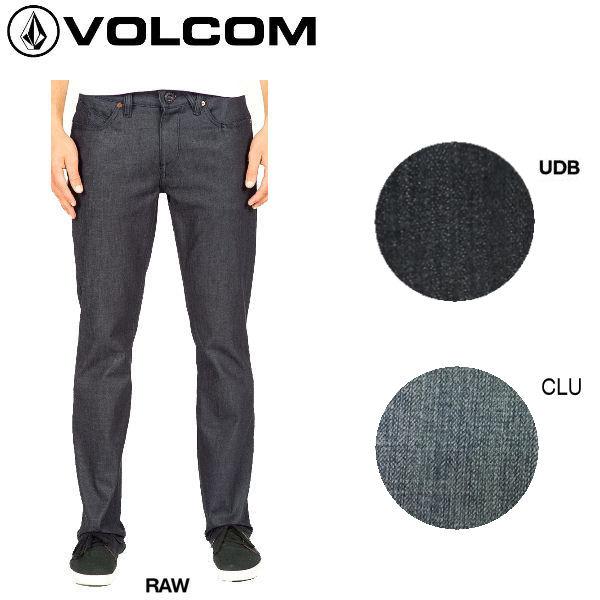 【VOLCOM】ボルコム/Solver Denim メンズストレッチデニム 長ズボン ロングパンツ ボトムス/2カラー/サイズ28-32【あす楽対応】【正規品】