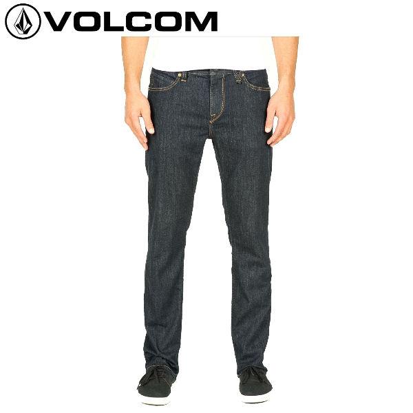 【VOLCOM】ボルコム/Solver Denim メンズストレッチデニム 長ズボン ロングパンツ ボトムス/Rns/サイズ28-36インチ【正規品】