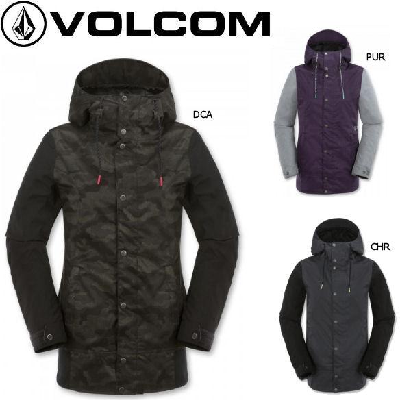 【VOLCOM】ボルコム2015-2016/Stave Jkt レディーススノージャケット スノーボード ウエア ウェア 長袖上着/XS-XL/3カラー【正規品】