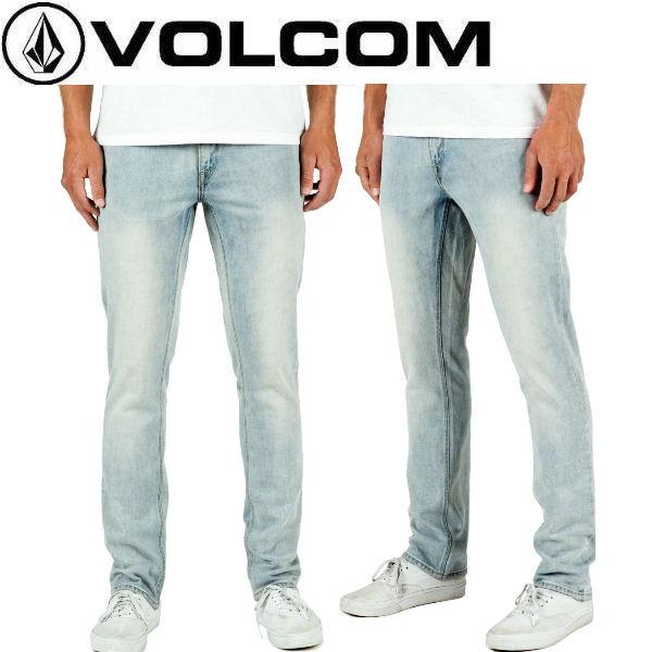 【VOLCOM】ボルコム Vorta Denim メンズデニムパンツ ジーンズ 長ズボン 28-32 SSL 【正規品】