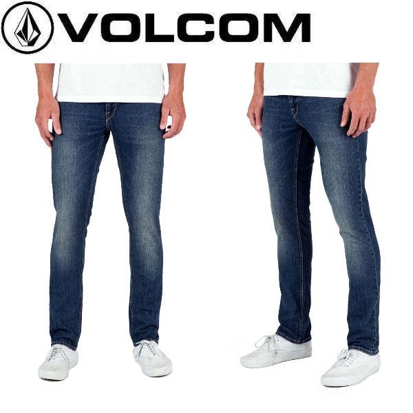 【VOLCOM】ボルコム 2X4 Denim メンズストレッチデニム 長ズボン ロングパンツ ボトムス SDI 28-34インチ【正規品】