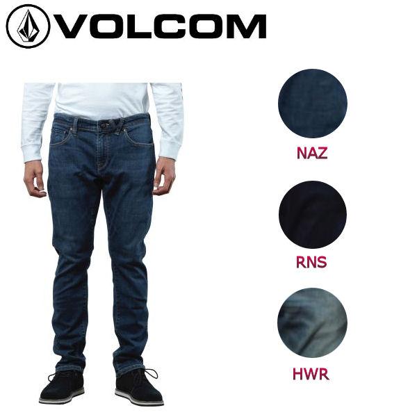 【VOLCOM】ボルコム Vorta Form メンズストレッチデニム 長ズボン ロングパンツ ボトムス 28-34インチ 3カラー【正規品】