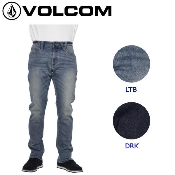【VOLCOM】ボルコム VORTA FORM II メンズデニムパンツ ジーンズ ストレッチデニム 長ズボン 28-34インチ DRK LTB 【正規品】