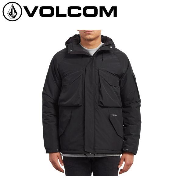 【VOLCOM】ボルコム 2018秋 DISCONNECTED JACKET メンズ ジャケット トラベルジャケット フード付き 耐水 S-L BLK 【正規品】