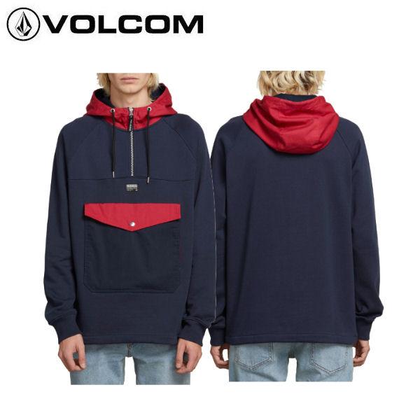 【VOLCOM】ボルコム 2019春夏 ALARIC PULLOVER HOODIE メンズ パーカー 長袖トップス S・M・L・XL【あす楽対応】【正規品】