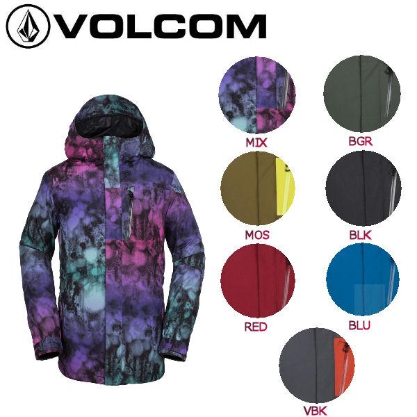 【VOLCOM】ボルコム 2018-2019 L GORE-TEX JKT メンズ スノーウェア ジャケット スノーボード スノボー ウィンタースポーツ S・M・L 7カラー