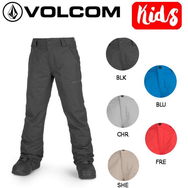 【VOLCOM】ボルコム 2018-2019 FREAKIN SNOW CHINO キッズ ジュニア スノーウェア パンツ スノーボード KIDS 子供用 XS-XL 5カラー