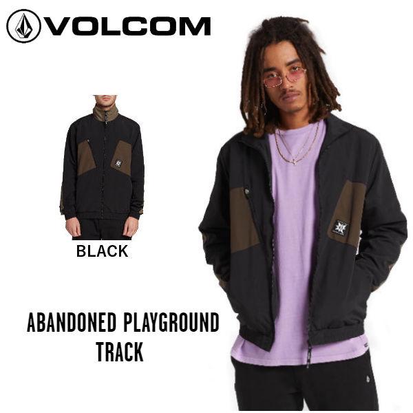 【VOLCOM】ボルコム 2019 秋冬 ABANDONED PLAYGROUND TRACK メンズ ジャケット ジャンパー トラックジャケット アウター S・M・L カラーBLACK【正規品】【あす楽対応】