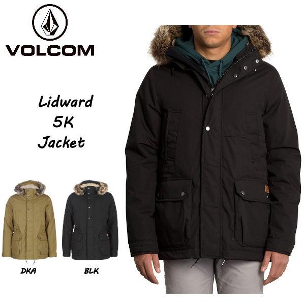 【VOLCOM】ボルコム 2019 秋冬 LIDWARD 5K JACKET メンズ ジャケット モッズコート ブルゾン アウター M・L・XL 2カラー【正規品】【あす楽対応】