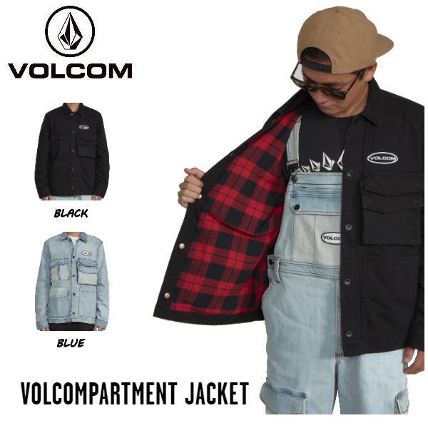 【VOLCOM】ボルコム 2019 秋冬 VOLCOMPARTMENT JACKET メンズ ストレッチ デニム カバーオール ジャケット アウター S・M・L 2カラー【正規品】【あす楽対応】