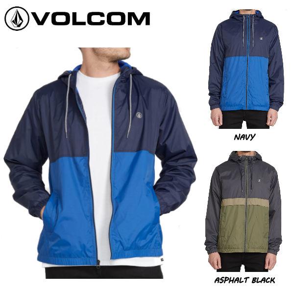 【VOLCOM】ボルコム 2019 秋冬 ERMONT JACKET メンズ ジャケット ジャンパー フードジャケット アウター M・L 2カラー【正規品】【あす楽対応】