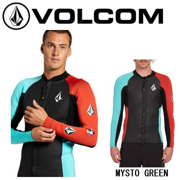 【VOLCOM】ボルコム 2020春夏 STONE ZIP JACKET メンズ ウェットスーツ タッパー ジャケット 水着 サーフィン サーフ【正規品】【あす楽対応】