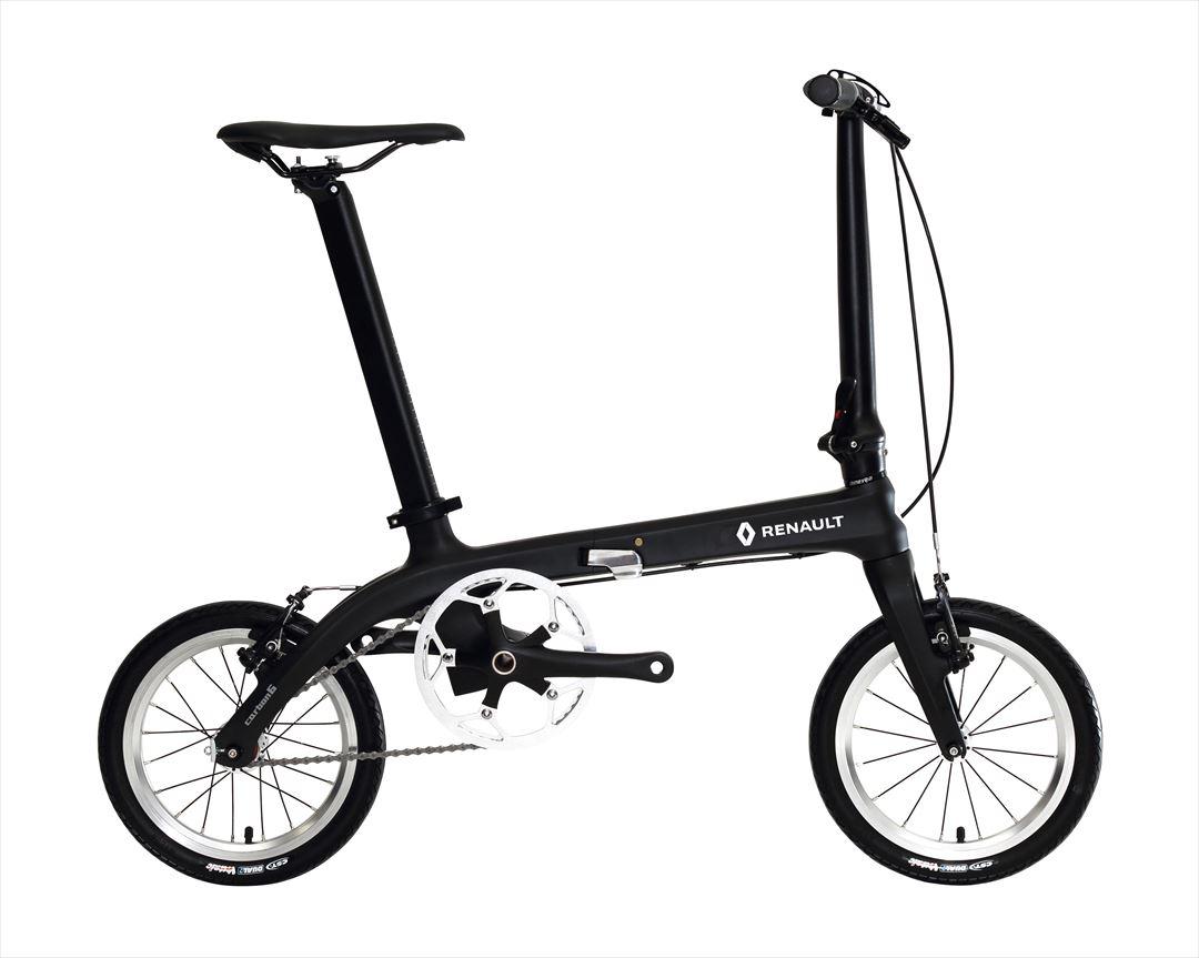 配送先一都三県一部地域限定送料無料 2018年モデル 自転車 ルノー(RENAULT) カーボンフレーム 自転車 折りたたみ自転車 16インチ 軽量 折りたたみ自転車 ルノー RENAULT Carbon 6 (カーボン6 C140) 通販 おしゃれ