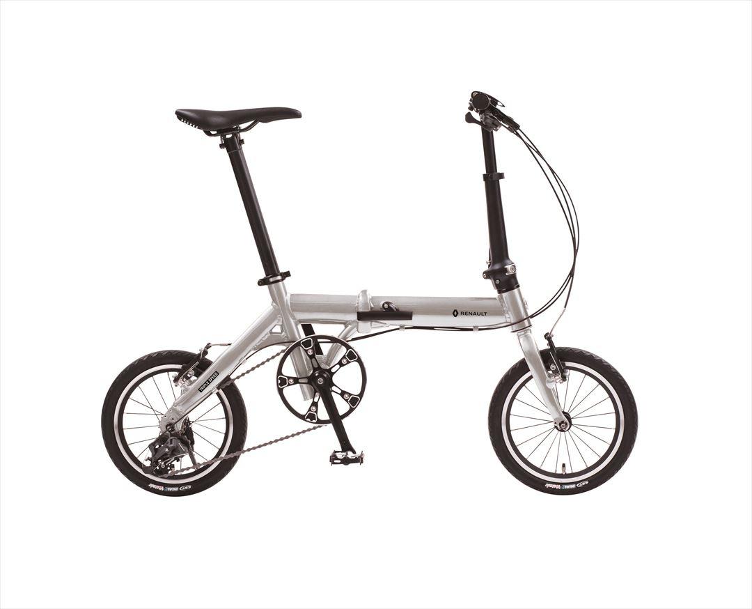【クーポン配布中!】折りたたみ自転車 ルノー RENAULT 自転車 シルバー 14インチ 自転車 軽量 3段ギア ルノー 折りたたみ自転車 ULTRA LIGHT 7 TRIPLE ウルトラライトセブン トリプル 変速 ギア付 通販 おしゃれ