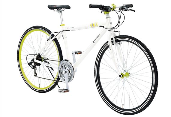 クロスバイク ルノー 2019年モデル AL-CRB7021N ルノー 外装21段変速ギア 軽量 自転車 700c 自転車 RENAULT ルノー おしゃれAL-CRB7021N ホワイト 白