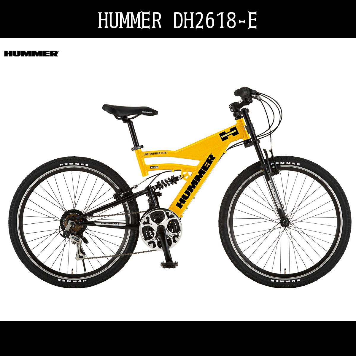 新品同様 2台セット販売 マウンテンバイク MTB ハマー HUMMER 自転車 イエロー黄色26インチ HUMMER マウンテンバイク ハマー おしゃれ 外装18段変速ギア アルミ MTB DH2618-E アルミニウム ギア付 通販 おしゃれ, 金婚式 還暦 祝い 書き下ろし館:4273718a --- canoncity.azurewebsites.net