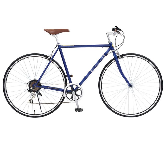 【クーポン配布中!】ローバー クロスバイク 2019年モデル 外装6段変速ギアつき 自転車 700cローバー Rover ギアつき 通販 おしゃれ ブルー 青