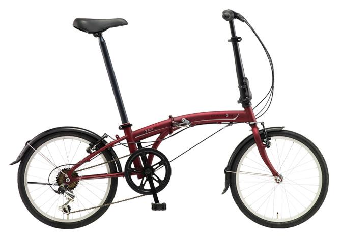 送料無料 折りたたみ自転車 DAHON SUV D6 ダホン 自転車 20インチ 折りたたみ自転車 外装6段変速ギアダホン 折りたたみ自転車 DAHON エスユーヴィー D6 18DAHON SUV-Mat Wine マットワイン ギア付 激安 通販 おしゃれ 安い