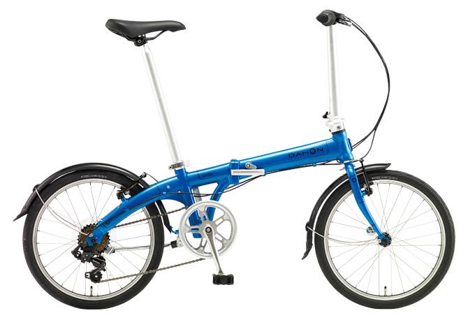 折りたたみ自転車 DAHON Vybe D7 ダホン 自転車 20インチ 折りたたみ自転車 外装7段変速ギア ダホン 折りたたみ自転車 DAHON ヴァイブ D7 2018年モデル Vybe-Aqua Blue ブルー ギア付 通販 おしゃれ